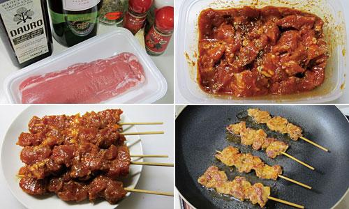 スペインの串焼き「ピンチョ・モ...