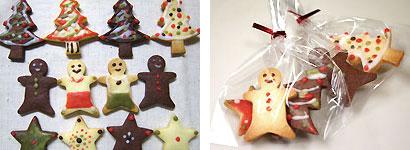 無印良品で発売中の「自分でつくる 組み立てる ヘクセンハウス」は、お菓子のお家が簡単に作れるように、焼いたクッキーのパーツやアイシングパウダー、絞り袋、サンタ  ...