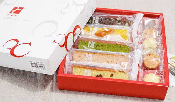ベルメゾンで人気のお菓子「キュートセレクション」 内祝いギフト